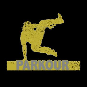 Parkour Distressed Design - Parkour by kudostees