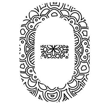 Theta - Greek Letter Sorority Sticker by susyj
