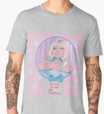 je vois la vie en rose bonbon Men's Premium T-Shirt