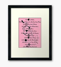 Disney Princess Songs  Framed Print