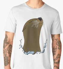 Happy sea lion Men's Premium T-Shirt