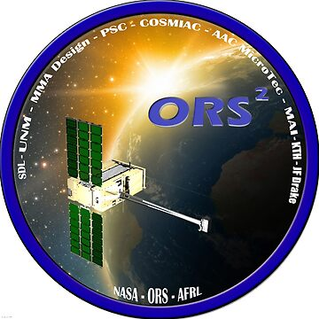 ORS Squared Mission Logo by Spacestuffplus