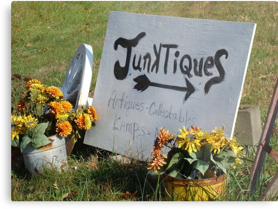 JUNKTIQUES - Sign    ^ by ctheworld