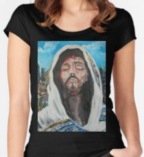 Christ Jesus Women's Fitted Scoop T-Shirt