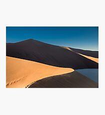désert lumière Photographic Print