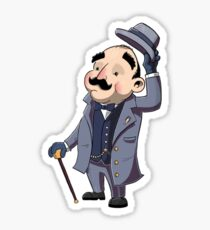 Poirot Sticker