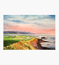 Pebble Beach Golf Course 7th Hole Photographic Print