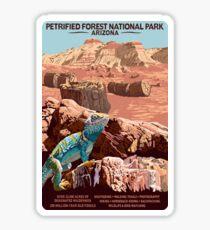 Petrified Forest National Park Iguana Travel Decal Arizona Sticker
