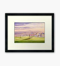 Saint Andrews Golf Course 17th Green Framed Print