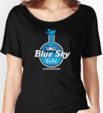 Blue Sky cafe Women's Relaxed Fit T-Shirt