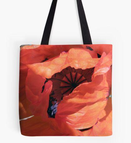 Poppy Explosion Tote Bag