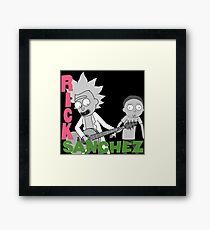 Rick Sanchez - Rick Sanchez  Framed Print