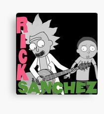 Rick Sanchez - Rick Sanchez  Canvas Print