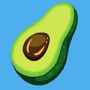 Many Avocado by Radiantoes