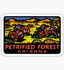 Petrified Forest National Park Retro Decal Arizona Sticker