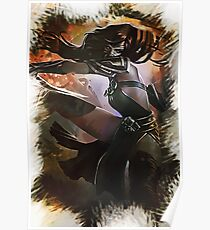 League of Legends AKALI Poster