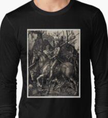 Albrecht Dürer Knight, Death and the Devil Long Sleeve T-Shirt