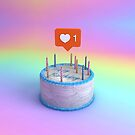 Happy Birthday Cake by nickjaykdesign