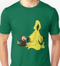 Curious George and the King in Yellow T-Shirt
