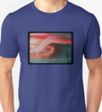 SunSet Wave,  Stunning Barreling Wave T-Shirt