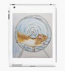 Hamster moving  iPad Case/Skin