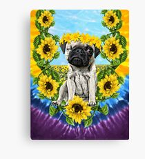 Sunflower Pee Wee Canvas Print
