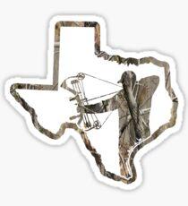 Texas Bowhunter - Camo  Sticker