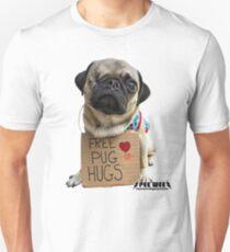 Free Pug Hugs T-Shirt