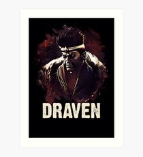 League of Legends DRAVEN Art Print
