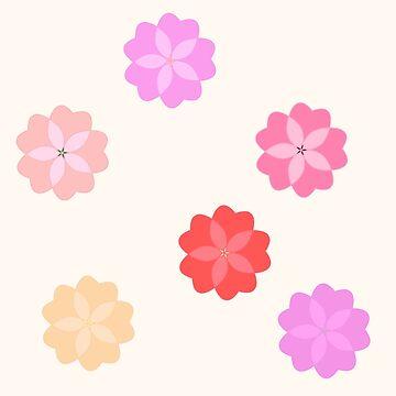 Cherry Blossom Cluster by shibas
