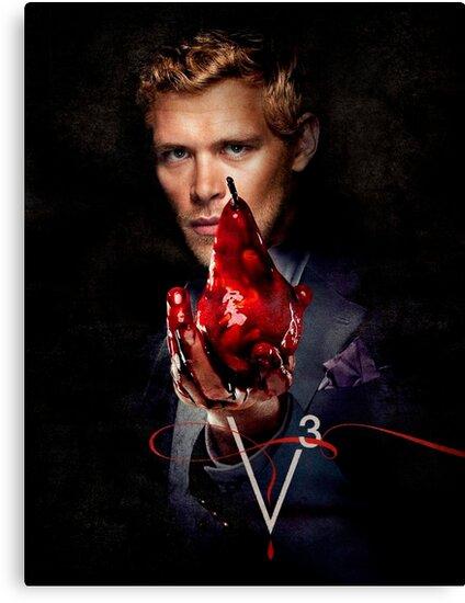 Klaus Mikaelson Die Vampire Diaries Staffel 3 Werbeplakat