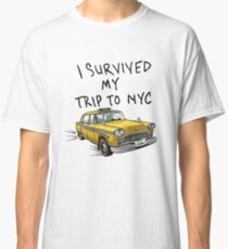 """Peter Parker's """"I Survived My Trip to NYC"""" Shirt Classic T-Shirt"""