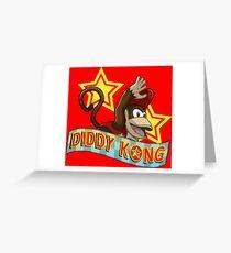 Diddy Kong Greeting Card