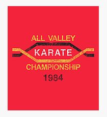 Valley Karate Championship (The Karate Kid) Photographic Print