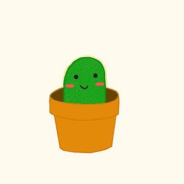 Small Blushing Cactus by shibas