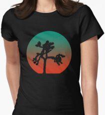 Camiseta entallada para mujer Joshua Tree at Dawn