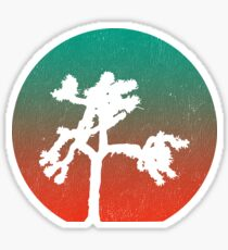 Joshua Tree at Dawn Sticker