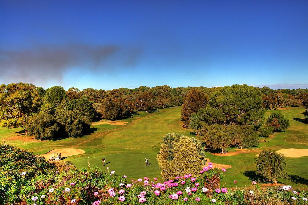 Golf course view by georgieboy98