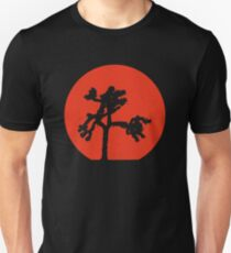 Joshua Tree Red Sky at Night Unisex T-Shirt