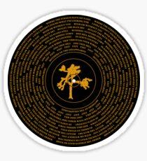 Joshua Tree Vinyl Sticker