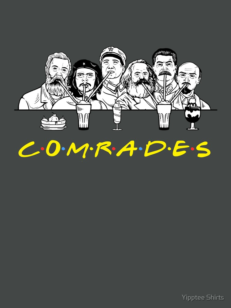 Communist Friends Comrades by dumbshirts