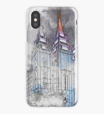 Salt Lake City, Temple iPhone Case/Skin