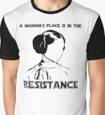Princess Leia Resist Graphic T-Shirt