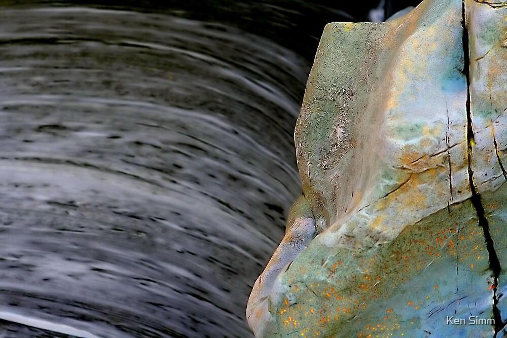 Rocks & River Glen Orchy by Kenart