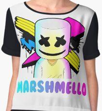 Marshmello Women's Chiffon Top