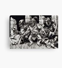 the ambush Canvas Print