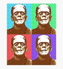 Scrabble Frankenstein's Monster x 4 Photographic Print