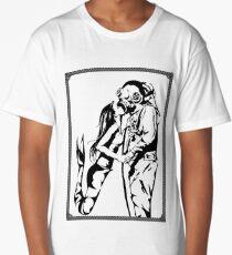 Mermaid + Deep Sea Diver Kiss Long T-Shirt