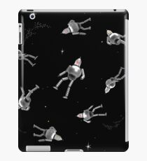 Lost in space _ silver iPad Case/Skin