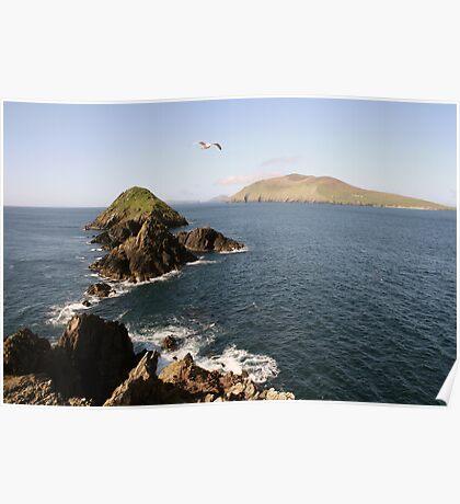 Dingle sea view Poster